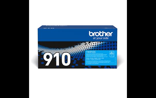 Originalen Brother TN-910C toner – cian
