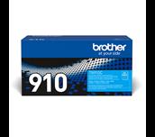 Brother TN910C: оригинальный голубой тонер-картридж.