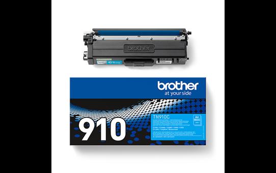 Original Brother TN910C ultra høykapasitet toner – cyan 3