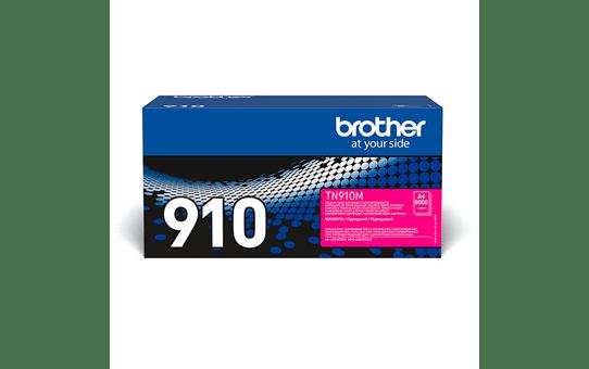 Brother TN910M: оригинальный красный тонер-картридж.