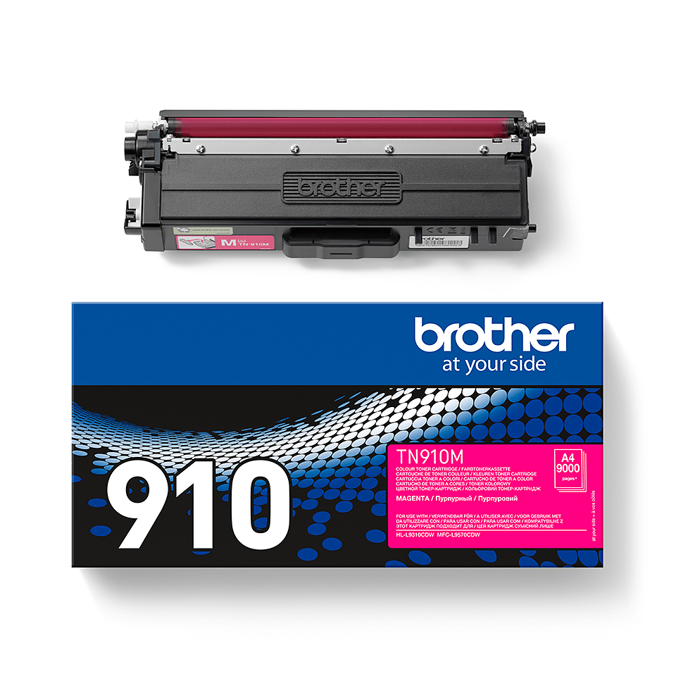 Genuine Brother TN-910M Toner Cartridge – Magenta 2
