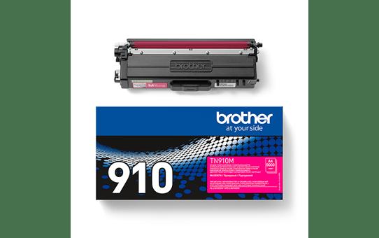 Original Brother TN910M ultra høykapasitet toner – magenta 3