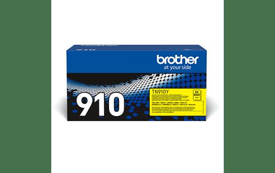Brother TN910Y toner geel - ultra hoog rendement 2