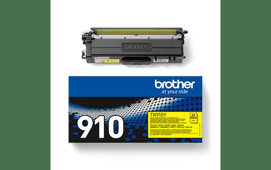 Brother TN910Y toner jaune - ultra haut rendement 3