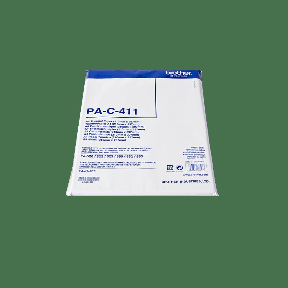 PAC411 Thermisch papier voorgesneden A4 vellen