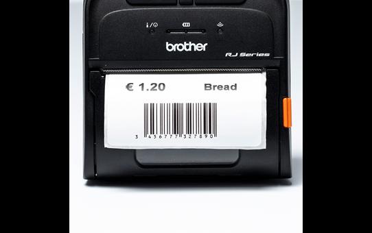 Brother original BDE1J044076040 etikettrull i fast format for direkte termisk utskrift 4