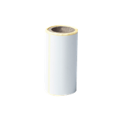 BDE1J044076040 label roll with transparent background - front