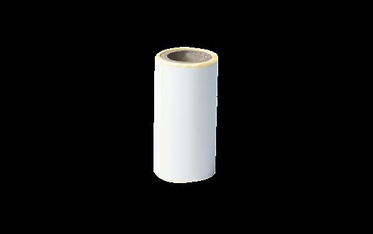 BDE-1J044076-040 - udstanset labelrulle i hvid