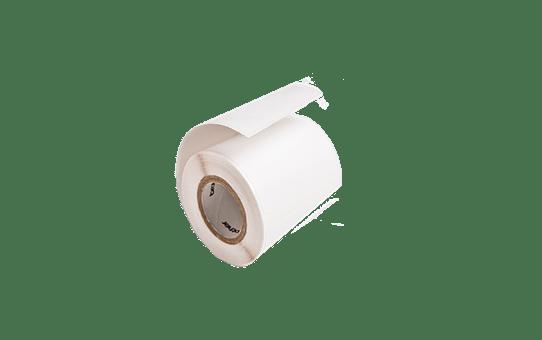 RD-Q04E1 - hvid rulle med udstansede labels