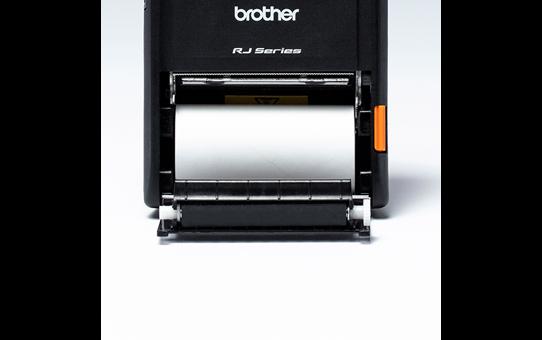 Brother original BDE1J000057030 hvit kvitteringsrull i løpende lengde for direkte termisk utskriftsteknologi 4