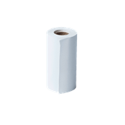 BDE1J000057030 receipt roll with transparent background - front