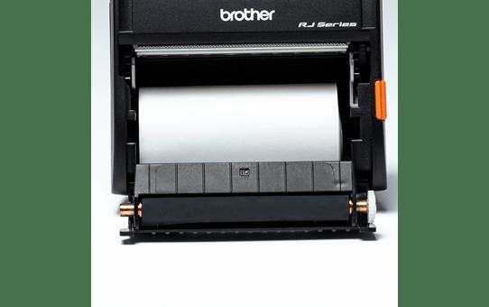 Brother original BDE1J000079040 hvit kvitteringsrull i løpende lengde for direkte termisk utskriftsteknologi 4