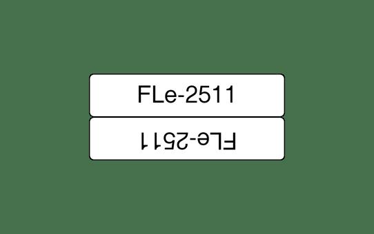 FLe-2511 vlagtape labels 45mm x 21mm