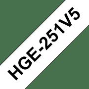 HGE251V5 Cinta HGe de alta resolución de impresión