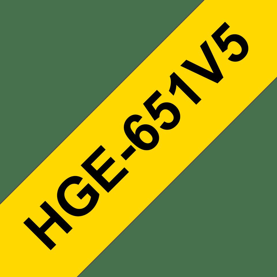 HGE651V5 Cinta HGe de alta resolución de impresión