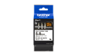 Genuine Brother HSe-211 Heat Shrink Tube Tape Cassette – Black on White, 5.8mm wide 3
