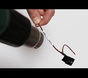 Fita tubo termo retrátil HSe211 Brother