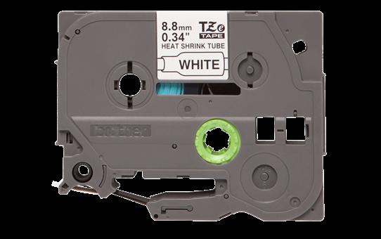 Cartouche à ruban pour gaine thermorétractable HSe-221 Brother originale – Noir sur blanc, 8,8mmx1,5m. Ruban continu. 2