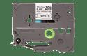 Genuine Brother HSe-231 Heat Shrink Tube Tape Cassette – Black on White, 11.7mm wide