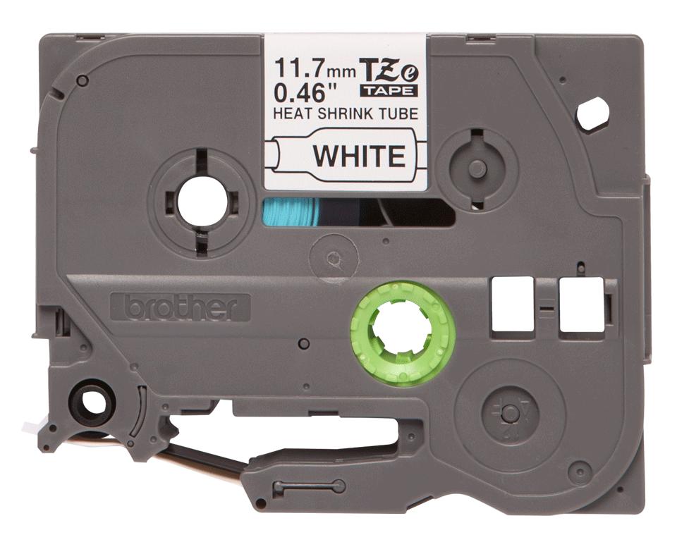 Original Brother HSe-231 krympeflextape – sort på hvid, 11,7 mm bred 2