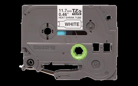 Oriģināla Brother HSe-231 termosēžas cauruļveida uzlīmju lentes kasete - melnas drukas, balta - 11.7mm plata