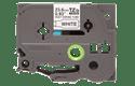 Original Brother HSe-251 krympeflextape – sort på hvid, 23,6 mm bred 2