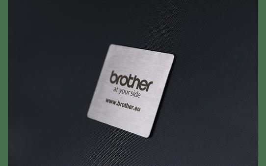 Brother STe-141 Schablonenband – weiß auf transparent