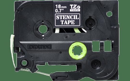 STe-141 ruban pochoir pour gravure 18mm 2