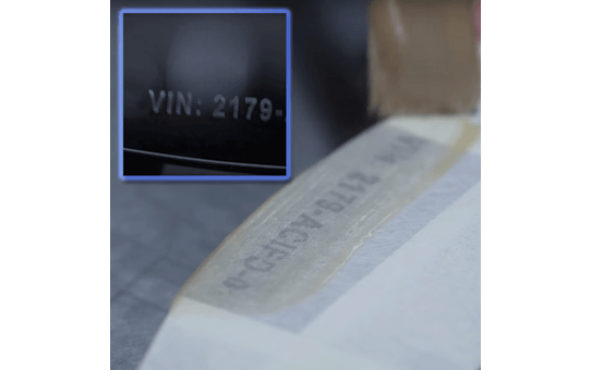 Genuine Brother STe-141 Stencil Tape Cassette – Black, 18mm wide 3