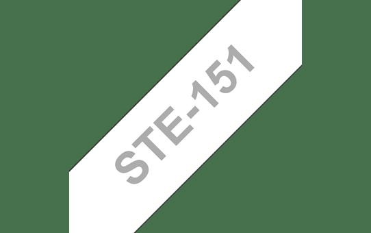 Brother STe-151 Schablonenband – weiß auf transparent 2