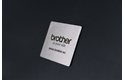 Brother STe-151 Schablonenband – weiß auf transparent