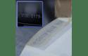 Brother STe-151 Schablonenband – weiß auf transparent 5