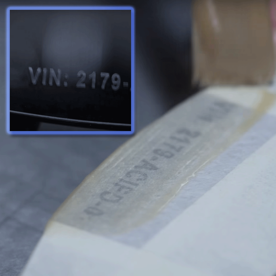 Genuine Brother STe-151 Stencil Tape Cassette – Black, 24mm wide 3