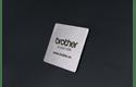 Brother STe-161 Schablonenband – weiß auf transparent
