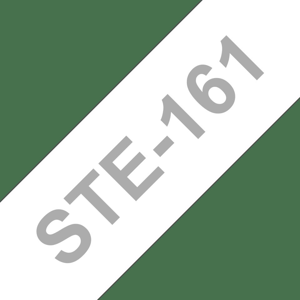 Brother STe-161 Schablonenband – weiß auf transparent 2