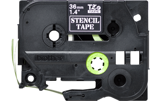Originální kazeta s páskou pro výrobu šablon STe-161 - černá, šířka 36 mm 2