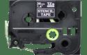 Genuine Brother STe-161 Stencil Tape Cassette – Black, 36mm wide 2