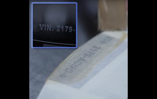Oriģināla Brother STe-161 trafareta lentes kasete – melna, 36mm plata 3