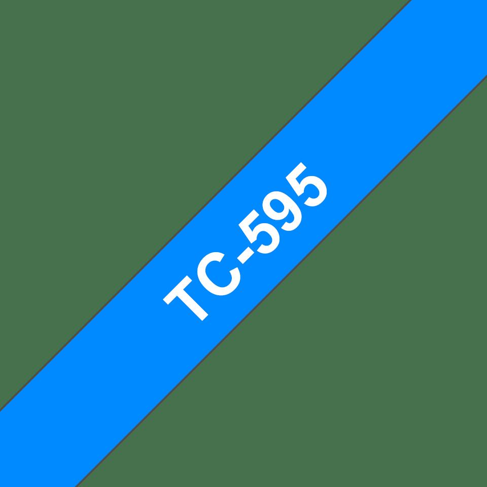 Originalna Brother TC-595 kaseta s trakom za označevanje