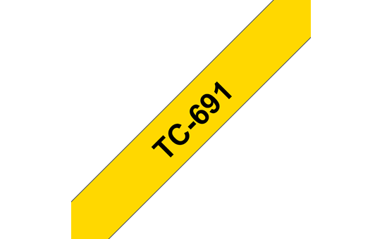 Originalna Brother TC-691 kaseta s trakom za označevanje