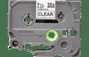 Cassetta nastro per etichettatura originale Brother TZe-111 – Nero su trasparente, 6 mm di larghezza