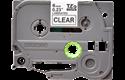 Originele Brother TZe-111 label tapecassette – zwart op transparant, breedte 6 mm 2