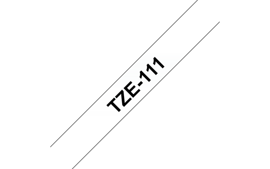 TZe-111 ruban d'étiquettes 6mm