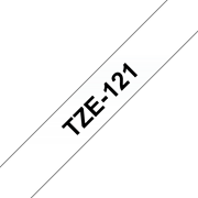 Cinta laminada TZe121 Brother