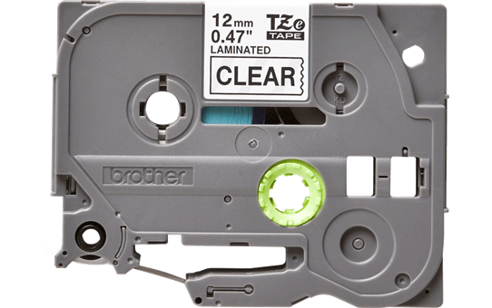 Originele Brother TZe-131 labeltape – zwart op transparant, breedte 12 mm 2