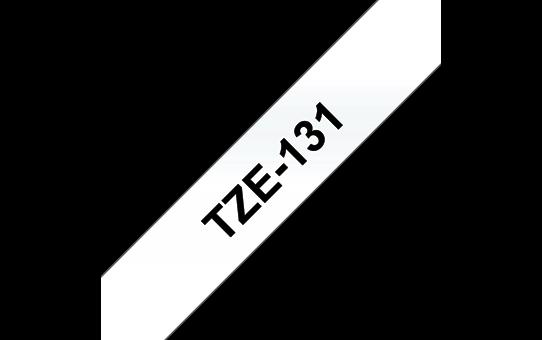 Ruban pour étiqueteuse TZe-131 Brother original – Transparent, 12mm de large