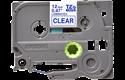 Cassetta nastro per etichettatura originale Brother TZe-133 – Blu su trasparente, 12 mm di larghezza