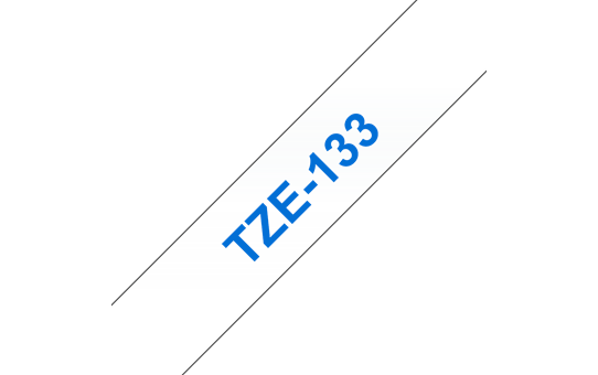 TZe-133 ruban d'étiquettes 12mm