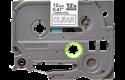 Cassetta nastro per etichettatura originale Brother TZe-135 – Bianco su trasparente, 12 mm di larghezza