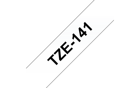 TZe-141 ruban d'étiquettes 18mm